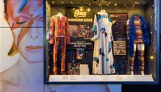 David Bowie's collection of outfits at British Music Experience