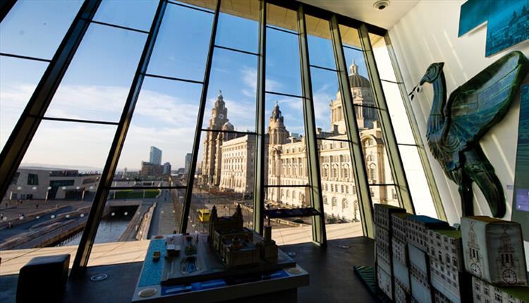Museum of Liverpool's 'Window with a View' Winner.