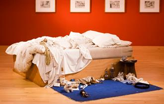 Tracey Emin and William Blake in Focus